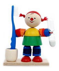 Loving this Wood Sprite Toothbrush Timer on #zulily! #zulilyfinds