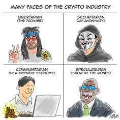 cryptocurrency comic give me your wallet