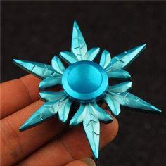 Winter Snowflake Hand Spinner. Disney Frozen hand spinner: https://www.viralnomad.com/products/goddess-snowflakes-hand-spinner