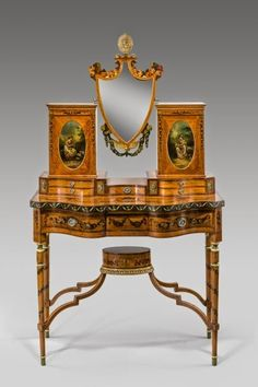 Eye For Design: Decorating With Antique Painted Satinwood Furniture - Dressing table