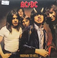 AC/DC Highway To Hell Vinyl LP