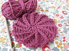 Spiral crochet motif pattern