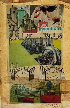 we have inventions by fleetofgypsies on deviantART