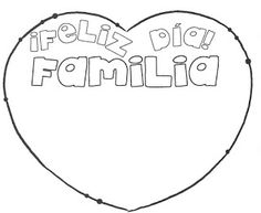 Maestros de Corazón: Imágenes para el Día de la familia Family Day, Clip Art, Activities, Engagement, Education, Teacher Notes, Mayo, Ideas Para, Origami
