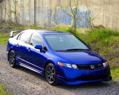 2008 Honda Civic Mugen SI: Must have! My complete full perfect dream car! Honda Bikes, Honda Cars, Honda Motorcycles, 2008 Honda Civic Si, Honda Civic Coupe, My Dream Car, Dream Cars, Slammed Cars, Car Colors