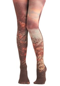 of course i need to appeal to my love of nature, inner hippie. and its nice to have a reminder of ona my fave bands the paper kites. :)   Lay of the Woodland Tights, #ModCloth