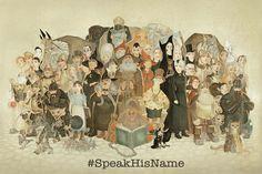 #SpeakHisName