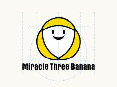 Miracle Three Banana - Logo / Golden Ratio by BANANA DESIGN