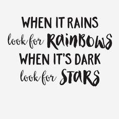#Loves this #Quote ❤️ #Rain #Rainbows #Stars  #inspiration #words www.kidsdinge.com                            http://instagram.com/kidsdinge          https://www.facebook.com/kidsdinge/ #kidsdinge