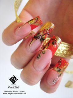 Christmans Nails by Mirela Liardo