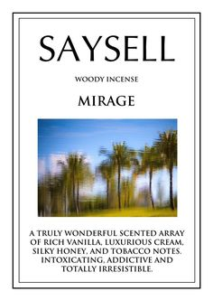 Mirage Woody 100 Incense Joss Sticks Agarbatti by Saysell #Saysell #Woody