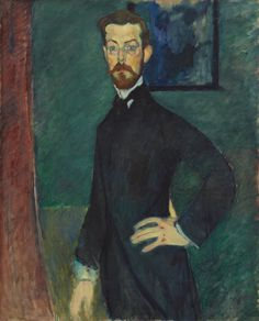 Title: Portrait of Dr. Paul Alexandre Creator: Amedeo Modigliani Date: 1909