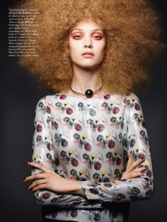studio: diana moldovan by sonia sieff for madame air france august/september 2013