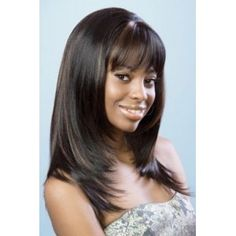 Beshe Synthetic Wig Patchy