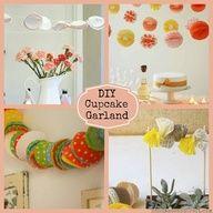 Cupcake Liner Garland {7 DIY Party Ideas}