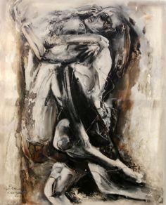 Mixed media on canvas 100.80 2012