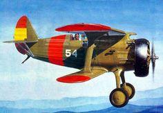 Polikarpov I-15 'Chato', Spanish Civil War (Rest Models box art)