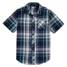 FREE SHIPPING AVAILABLE! Buy Arizona Boys Short Sleeve Button-Front Shirt - Boys 8-20 and Husky at JCPenney.com today and enjoy great savings.