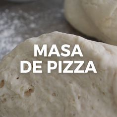 Esta masa de pizza fácil y rápida es mi salvación cuando quiero pizza casera y que estará lista en menos de 30 minutos! Pizza Recipes, Appetizer Recipes, Cooking Recipes, Slow Cooking, Cooking Box, Cooking Torch, Cooking Lamb, Rib Recipes, Vegetarian Cooking