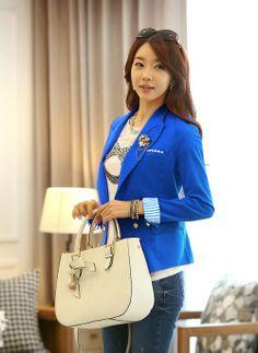 JY72481-BLUE | Butik Online Fashion Import Murah | Supplier Baju dan Tas Import .™