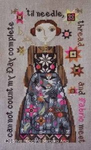 cross stitch patterns : My Favorite Apron by thecottageneedle