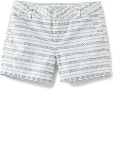 Printed Chino Shorts for Girls | Old Navy