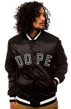 Classic Baseball Jacket by DOPE