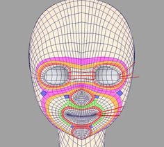 3d Model Character, Character Modeling, Character Design, 3d Modellierung, Face Topology, Maya Modeling, Polygon Modeling, Face Anatomy, 3d Human