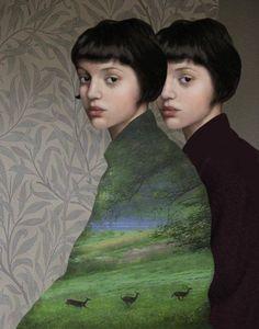 """Daria Petrilli - """"Due Nature"""" / pinterest.com/giae1 ♥"""