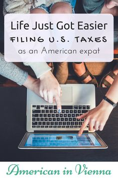 The new expat tax solution for American (U.S.) expats living abroad - MyExpatTaxes. It's simple, affordable, and you can get them done in under 30 minutes!