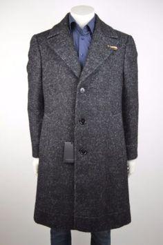 baldessarini herren mantel schurwolle coat jacke wolle 50 l neu uvp 599 00 baldessarini mantel. Black Bedroom Furniture Sets. Home Design Ideas