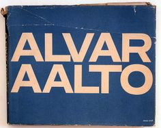 A good book. An all time favourite – for the cover typography as well as the architect! Alvar Aalto, Book Cover Design, Book Design, Graphic Prints, Graphic Design, Type Design, Graphic Art, Architecture Organique, Paper Architecture
