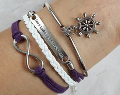infinite bracelets infinite charm by lifesunshine on Etsy, $7.99