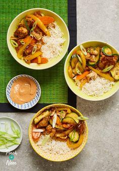 Hibachi Chicken With Yum Yum Sauce - Pinch Of Nom