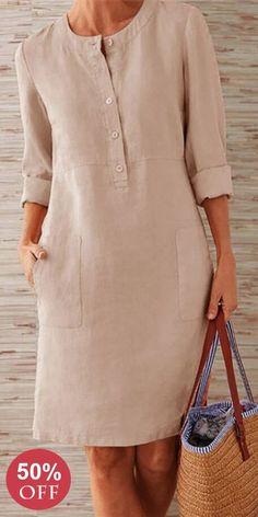 Prime Today🤣Boho Plus Size Elegant Fashion Mini DressSHOP NOW is part of Mini dress fashion - Simple Dresses, Elegant Dresses, Casual Dresses, Boho Fashion, Fashion Dresses, Womens Fashion, Fashion Details, Fashion Ideas, Boho Plus Size