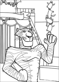 Madagascar Coloring Pages 23