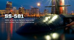 Decommissioned Navy submarine U.S.S. Blueback at the Oregon Museum of Science and Industry (OMSI)