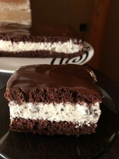 Cold Desserts, Delicious Desserts, Yummy Food, Dessert Cake Recipes, Sweets Cake, Lady Laura, Oreo, Chocolate Belga, Vegan Carrot Cakes