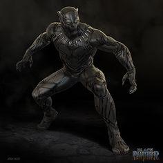 Black Panther Images, Black Panther Art, Black Panther Marvel, Marvel Comic Character, Marvel Characters, Armadura Ninja, Marvel Concept Art, Superhero Villains, Fantasy Art Men
