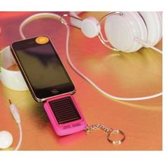 Solar Power Charger. Just ordered mine(: