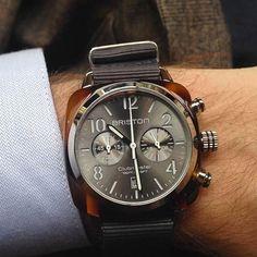 #mybriston #new #watch #briston #grey #sunraydial #chic #casual #elegant Photo credit @commeuncamion