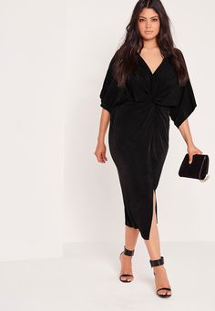 be ready to turn heads in this! we've got major girl crush vibes over this midi dress, in a lust-worthy slinky kimono style and figure-flattering fit, you'll be able to show off your curves and give them all the attention they deserve! add ...