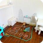 Decorar las habitaciones infantiles con washi tape