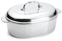 Chefs Design 712Quart Covered Oval Roaster with Nonstick Interior >>> Details can be found by clicking on the image.  This link participates in Amazon Service LLC Associates Program, a program designed to let participant earn advertising fees by advertising and linking to Amazon.com.