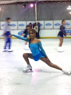 Frozen ice skating dress from Nice Designs