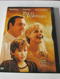 Pay It Forward (DVD, 2001) Kevin Spacey Helen Hunt Haley Joel Osment