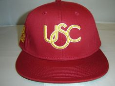 NCAA USC Trojans University of Southern California Segundo Snapback Cap