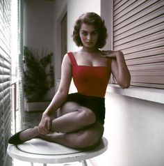 ROME—Sophia Loren, 1955.