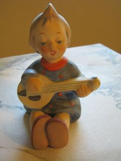Hummel Goebel 53 Joyful Vintage Figurine by janislogsdongems, $65.00