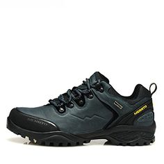 Introducing MERRTO Mens Outdoor Blue Nubuck Waterproof Hiking Shoes US10. Great Product and follow us to get more updates!